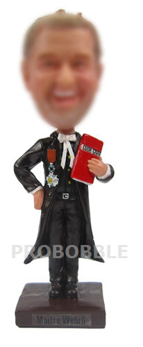 Custom Lawyer Bobbleheads