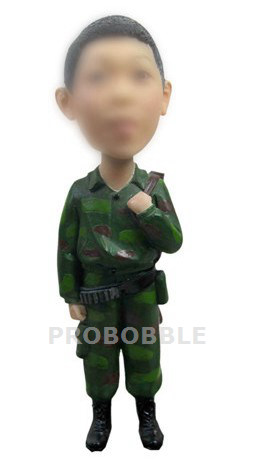 Military Bobblehead Army Cadet Uniform