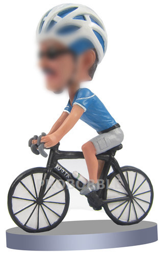 Male Cyclists bobbleheads
