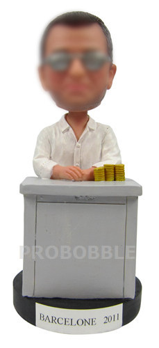 Custom Gambling Bobbleheads