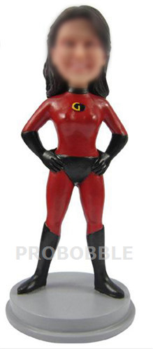 Personalized Bobbleheads Mrs. Incredible