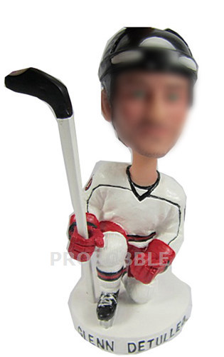 Man Playing Hockey Bobbleheads