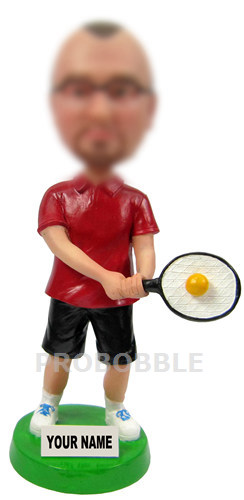 Bobbleheads Tennis Player