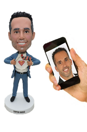 Make bobblehead for your Boss