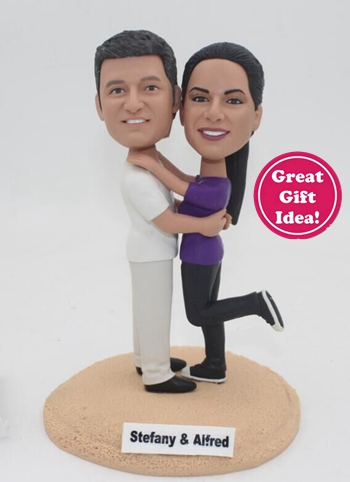 Wedding bobbleheads gift