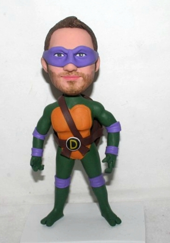 Custom TMNT Ninja Turtles bobblehead